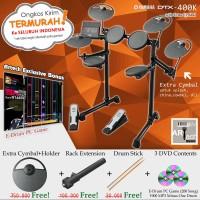 Drum Elektrik Yamaha DTX400K + XtraCymbal/ DTX400 / DTX 400 / DTX 400K