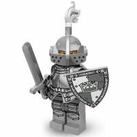 LEGO Minifigures Series 9-Heroic Knight Minifigure Seri #4 King Castle