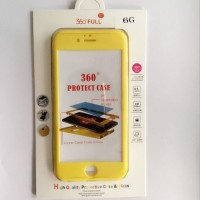 Casing HP Premium 360 Full Protect Case Yellow Iphone 5/5s/SE/6/6s