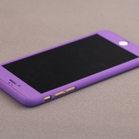 Casing HP Premium 360 Full Protect Case Purple Iphone 5/5s/SE/6/6s