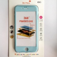 Casing HP Premium 360 Full Protect Case Light Blue Iphone 5/5s/SE/6/6s