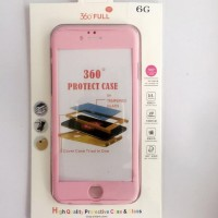 Casing HP Premium 360 Full Protect Case Soft Pink Iphone 5/5s/SE/6/6s
