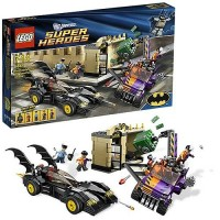 LEGO 6864 Batmobile and the two face chase