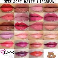 Nyx lipcream soft mate lip cream lipstick travel cosmetic organizer