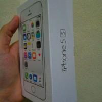 iPhone 5S 16GB Silver Garansi Resmi iBox