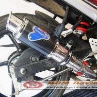 Jual Knalpot Racing GP Rossi Termignoni N250 / NVL / Byson / R15 / R25 / RR MO