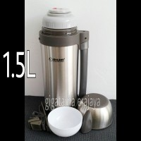 Jual SHUMA 1.5 L Termos Air Panas dan Dingin Wide Mouth Flask - Original Murah