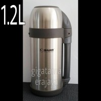 Jual SHUMA 1.2 L Termos Air Panas dan Dingin Wide Mouth Flask - Original Murah