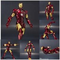 SHF Iron Man Mark 3 Original Bandai Action Figure Marvel