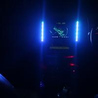 Lampu LED Equalizer Multi Color sound system mobil