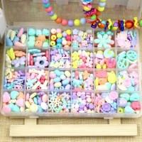 harga Mainan Edukasi Meronce Manik / Beads / Kelereng Mutiara DIY Manik Tokopedia.com