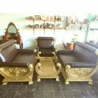 kursi sofa rafi ahmad 2 kayu jati special edition
