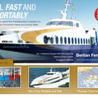 Tiket Ferry Singapura Batam 2way, ALL IN TAX PP, MAJESTIC FERRY.