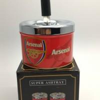 Asbak rokok putar club bola Arsenal import
