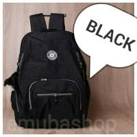 Tas Laptop | Tas Wanita | Backpack | Tas Ransel Punggung Kipling Black