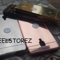 BUMPER MIRROR XIAOMI MI4 MI 4 iphone style back metal case cover hard