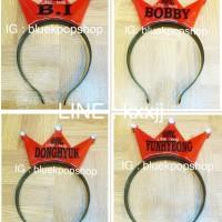 Bando / Headband LED kpop IKON BI BOBBY JINHWAN CHANWOO JUNHOE