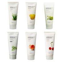 THE FACE SHOP FACE WASH HERB DAY CLEANSING FOAM