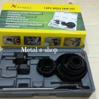 harga Hole Saw Kit Set 13pcs Nankai (holesaw Hidroponik) Tokopedia.com