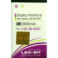 harga Baterai Battery Batre Logon Double Power Blackberry Cs-2 Gemini 8520 Tokopedia.com