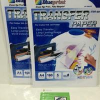 Harga transfer paper kertas sablon anti air sablon kaos cepat murah awet | antitipu.com