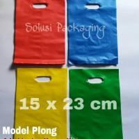 TAS PLASTIK MODEL PLONG TIPE E 15x23 cm/Tas produk/Tas mall