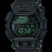 Jam Tangan Casio G-Shock Original GD 400MB-1 Military Black Series