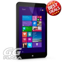 HP Stream 8 Windows Tablet PC with Keyboard Docking - Black