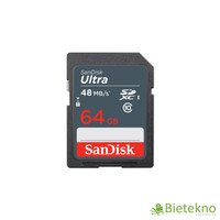 Sandisk SDXC Ultra 64GB Class 10 UHS-1 48MB / S