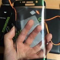Anti Gores Kaca KINGKONG Tempered Glass SAMSUNG S6 EDGE PLUS FULL ORI