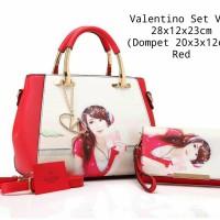 Tas Wanita Valentino Set V83