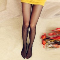 Stocking Kaki Wanita Fashion Polos Murah (Cream)