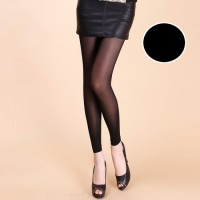 H013908 / Stocking Kaki Wanita Fashion Polos Murah (Hitam)