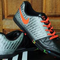 Sepatu Import Nike Lunar Gato II Silver Hitam KW Super