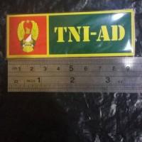 Stiker Asli Untuk Plat Nomor TNI AD