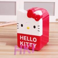 Rautan Hello Kitty Kotak - Merah
