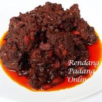 Rendang Padang Daging Sapi Campur Kacang Merah 1/2 Kg