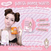 GLUTA SUPER WHITE BY LOVEABLE SUPLEMEN PERAWATAN PEMUTIH KULIT 30000MG