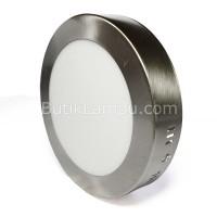 Lampu Downlight Outbow LED 12W Bulat Satin