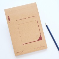 Buku Catatan / Our Story Begins Notepad Medium / Buku Tulis