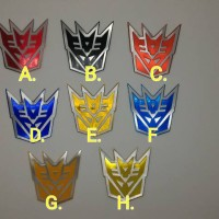 emblem transformer / transformers decepticon