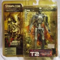 Terminator 2 (T2) T800 Endoskeleton - Movie Maniacs Series 5