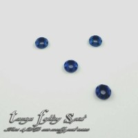 Rep Tamiya Crystal Aluminum Spacer For Screw / Ring - Blue (SA902)