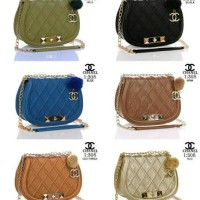 TAS IMPORT CHANEL 308 ( 6 WARNA )