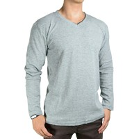 Jual GAP T-Shirt V-Neck List Long Sleeve Murah