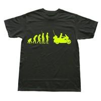 harga kaos/tshirt/baju HONDA GOLDWING MOTOR BIKER EVOLUTION Tokopedia.com