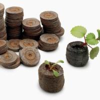 Jiffy Peat Pellets Diameter 2,5 cm / Pelet Gambut Benih / Peat Pellet