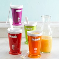 ZOKU SLUSH AND SHAKE ICE CREAM MAKER 1KG naik 2 PCS