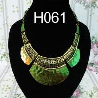 harga Fashion aksesoris perhiasan kalung wanita korea etnik import 92 Tokopedia.com
