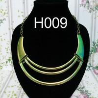 Fashion aksesoris perhiasan kalung wanita korea etnik import 15